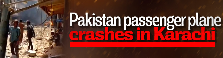 Pakistan passenger plane crashes in Karachi