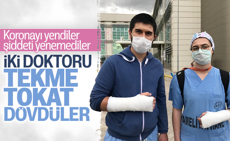 Kırıkkale'de iki sağlık çalışanına şiddet