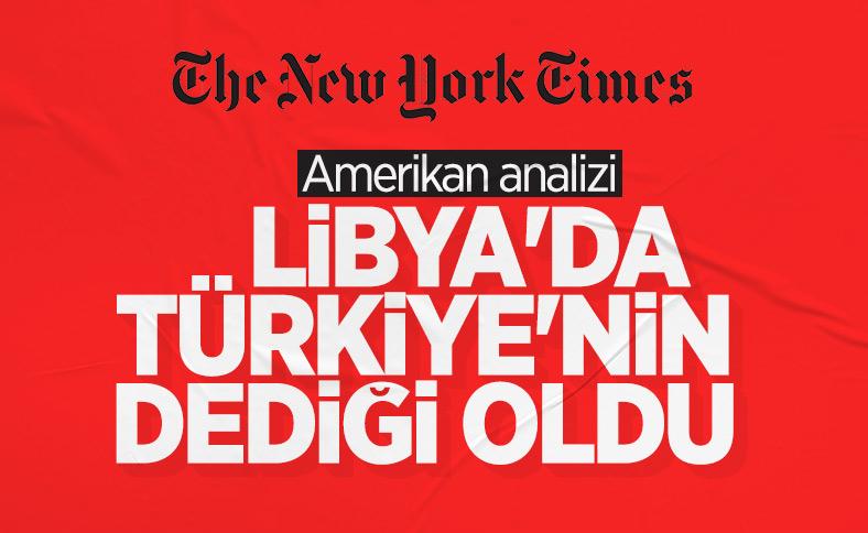 NY Times: Türkiye, Libya'da belirleyici güç oldu