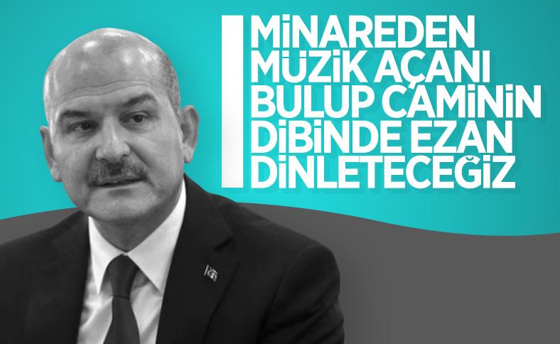 Bakan Soylu İzmir'deki cami olayını değerlendirdi