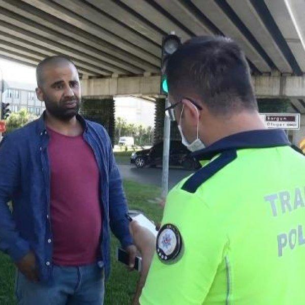 Antalya'da kazaya karışan sürücü cezadan kurtulamadı
