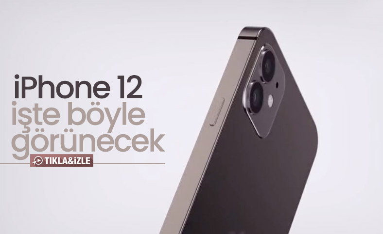 5.4 inçlik yeni iPhone 12 konsepti