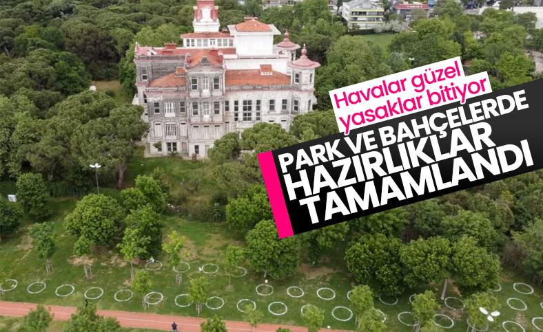 İstanbul, sosyal mesafeli döneme hazırlanıyor