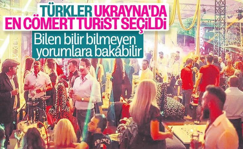Ukraynalılar Türkleri en cömert turist seçti