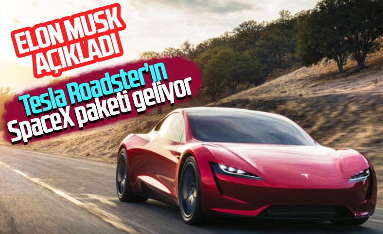 Elon Musk, Tesla Roadster için yeni bir açıklama yaptı
