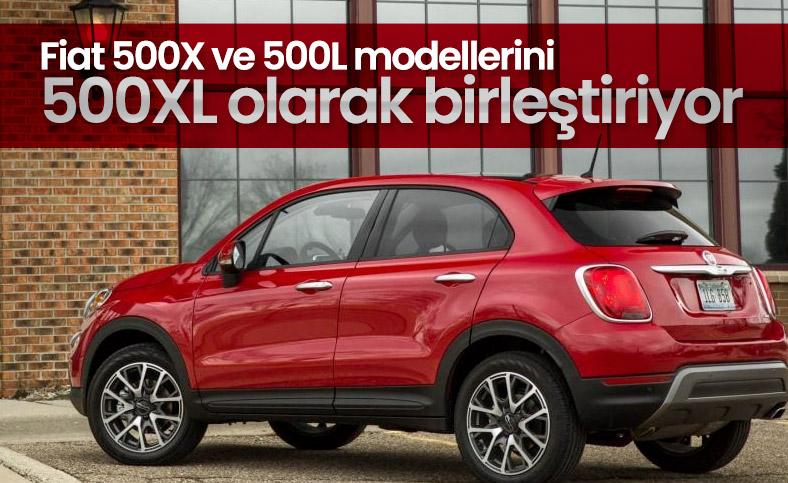 Fiat 500X ve 500L  tek bir otomobilde birleşecek