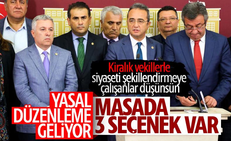 Erdoğan'ın masasında vekil transferine karşı 3 formül var