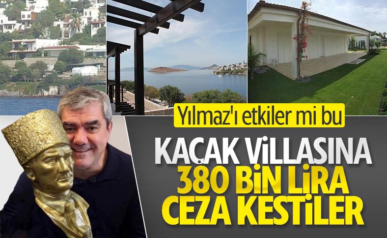 Özdil'e kaçak villa cezası