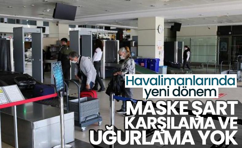 Havalimanlarında yeni koronavirüs tedbirleri