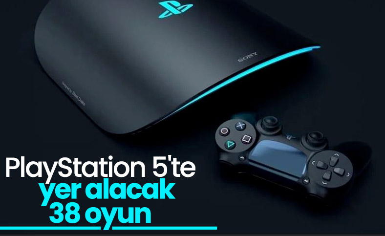 PlayStation 5'te yer alacak 38 oyun açıklandı