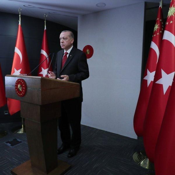 Cumhurbaşkanı Erdoğan Fetih Şöleni programında konuştu