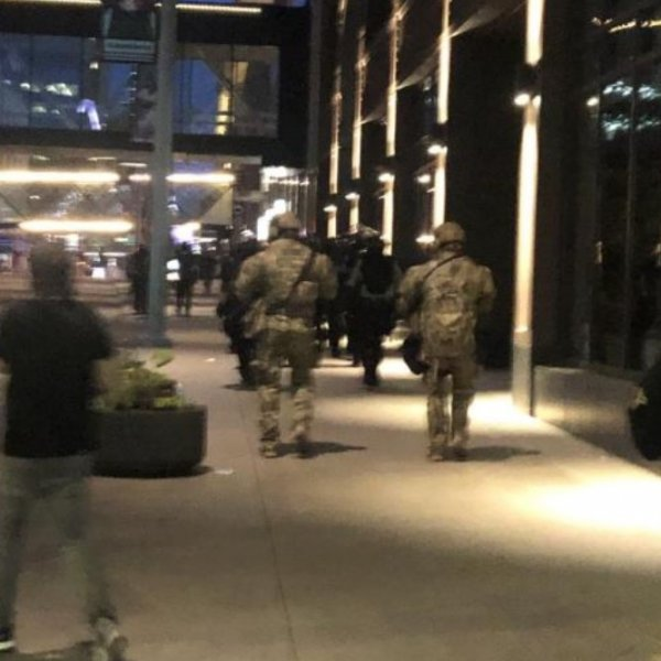 Polis cinayeti sonrası Ulusal Muhafızlar Minneapolis'te #1