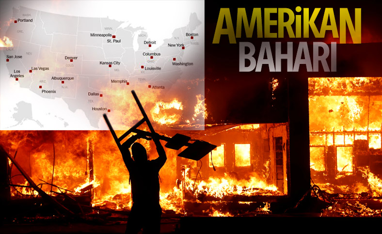 Amerika'da eylemler ülke geneline yayılıyor
