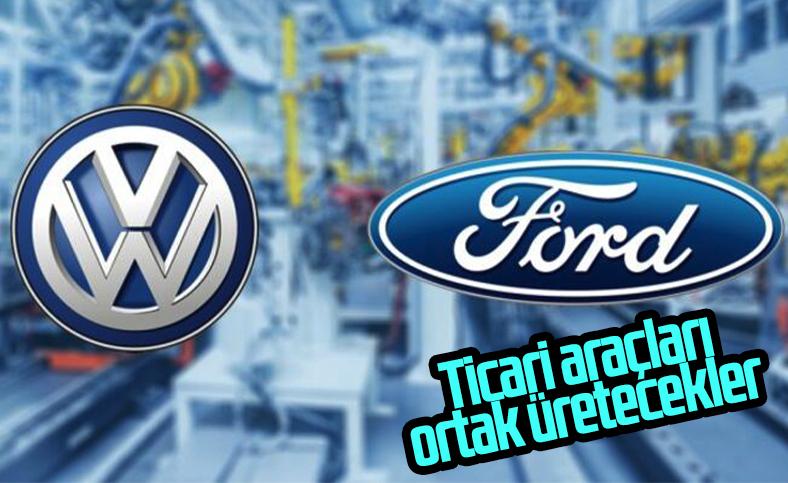 Volkswagen ve Ford ticari model üretimi için anlaştı