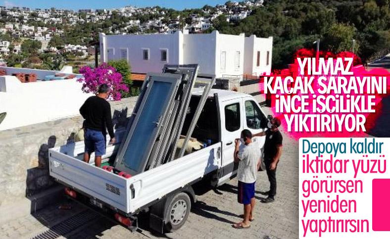 Yılmaz Özdil'in villasında özel ekip çalışıyor