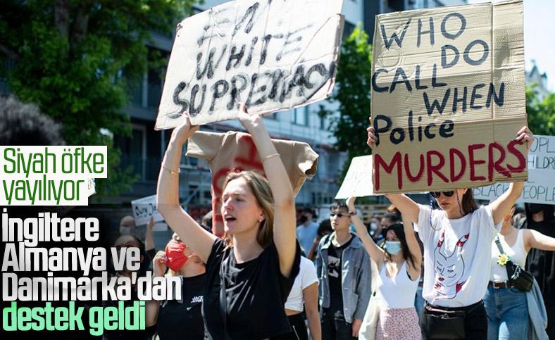 ABD'deki protesto gösterileri 3 ülkeye sıçradı