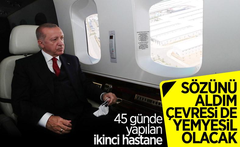 Yeşilköy'deki salgın hastanesi açıldı