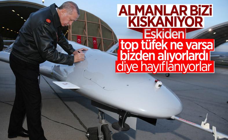 Alman Spiegel, Türk drone'larının başarısını övdü