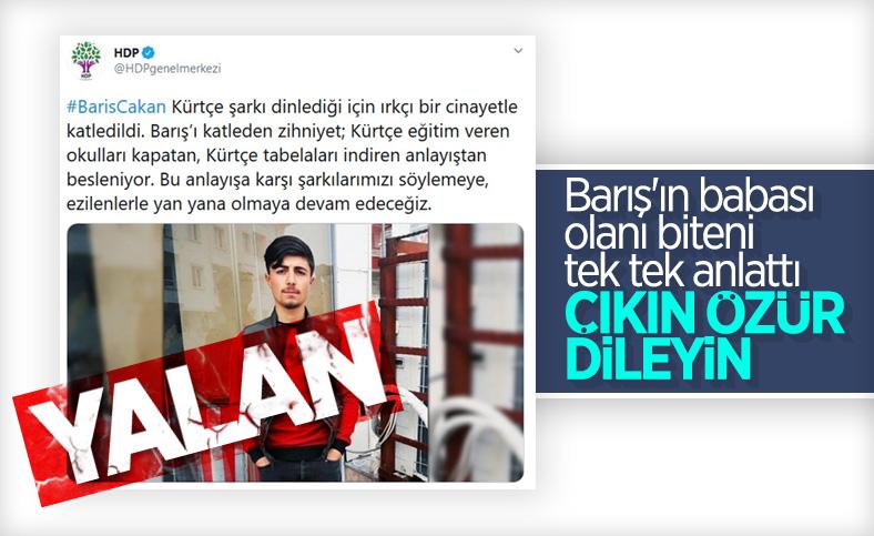 Ankara'da bıçaklanarak öldürülen gencin babası konuştu