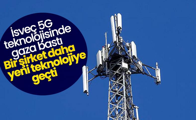 İsveç'te bir telekom şirketi daha 5G'ye geçti