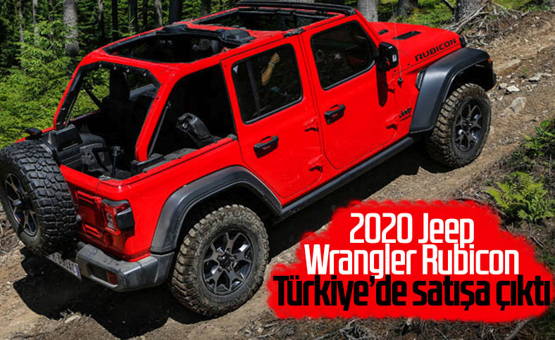 2020 Jeep Wrangler Rubicon Türkiye'de satışta