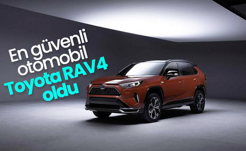Toyota RAV4 en yüksek güvenlik puanını aldı