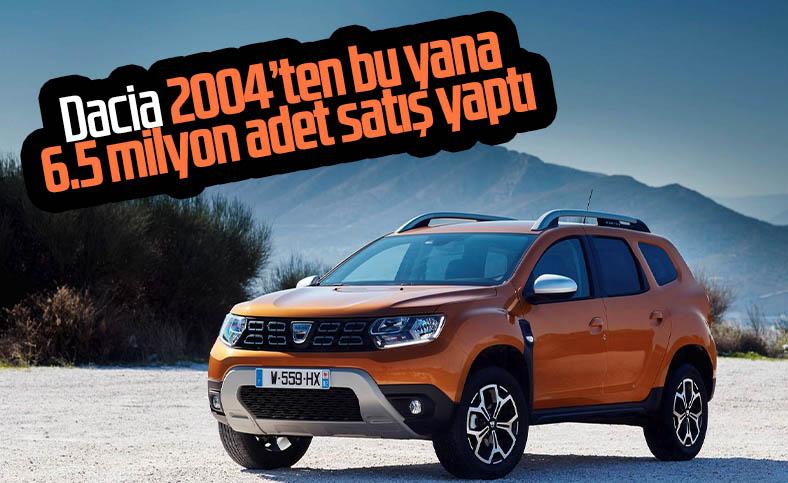 Dacia, 6.5 milyon adet satışı geride bıraktı
