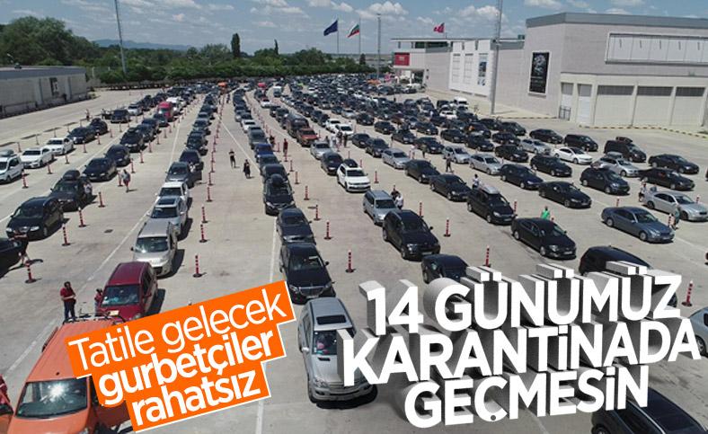 Tatile gelen Türk vatandaşlarına 14 gün karantina şartı
