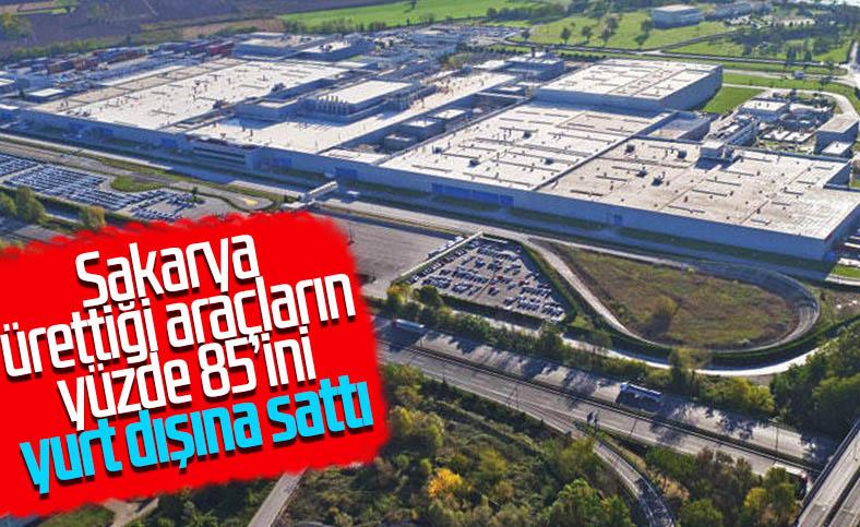 Sakarya'da üretilen araçların yüzde 85'i ihraç edildi