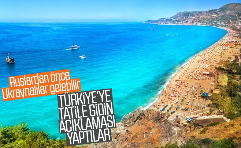Ukrayna'dan 'tatili Türkiye'de yapın' çağrısı