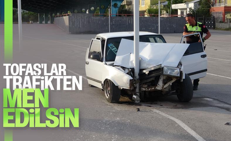 Adıyaman'da drift kazayla sonuçlandı: 5 yaralı
