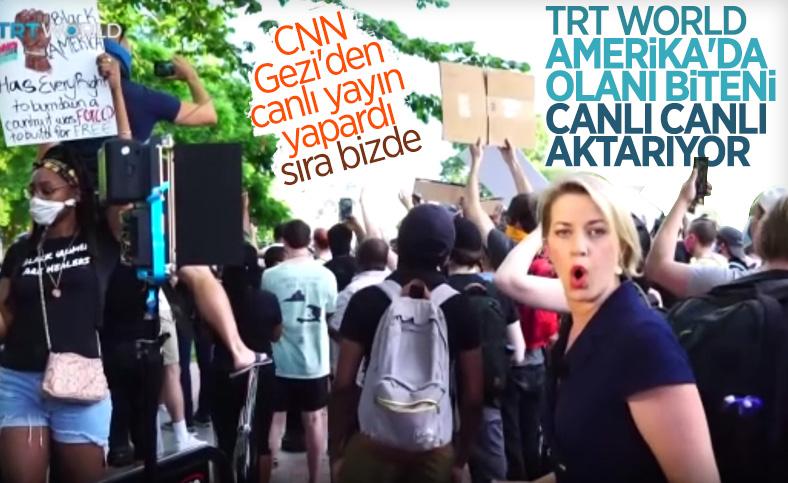 Amerika'da TRT World ekibine iki ayrı saldırı