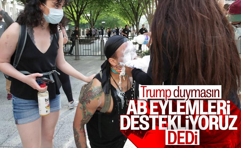 AB, Amerika'daki protestoları değerlendirdi