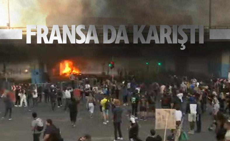 Fransa'da ırkçılık karşıtı gösterilerde şiddet olayları