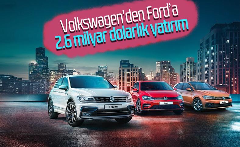 Volkswagen'den Ford'a dev yatırım