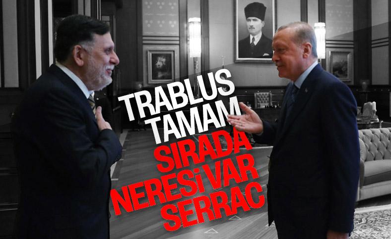 Ankara'da Serrac- Erdoğan görüşmesi sona erdi