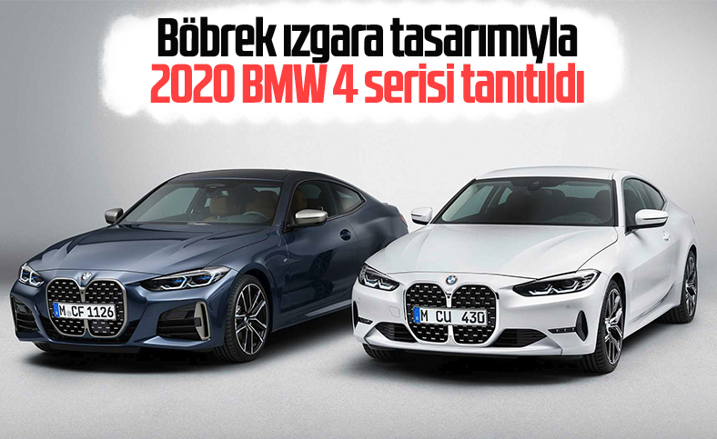 2020 BMW 4 serisi tanıtıldı