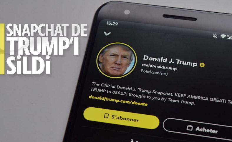 Snapchat, Donald Trump'ın reklamını yapmayacak