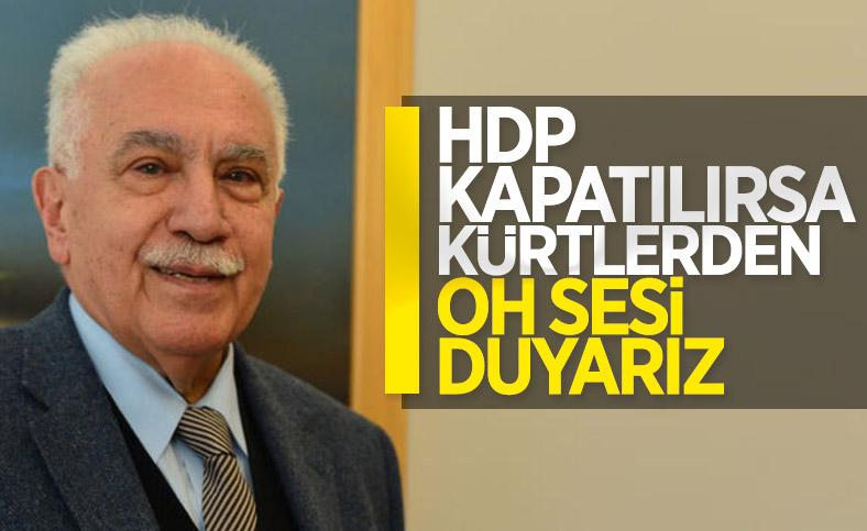 Doğu Perinçek, HDP'nin kapatılmasını istedi