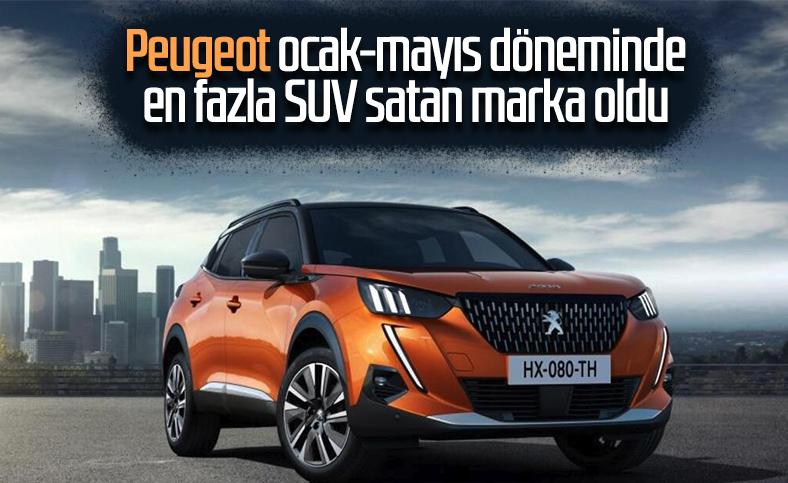 İlk 5 ayda en çok SUV satan marka Peugeot oldu