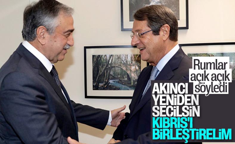 Anastasiadis'ten Mustafa Akıncı kazansın temennisi