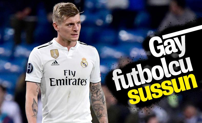 Toni Kroos: Futbol dünyasında eşcinsellik saklanmalı
