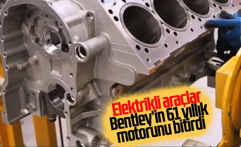 Bentley'in 61 yıldır ürettiği motor artık tarih oluyor