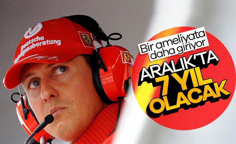 Schumacher, ameliyat edilecek