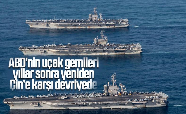 ABD filosu, 3 yıl sonra Çin'e karşı Hint Pasifiği'nde