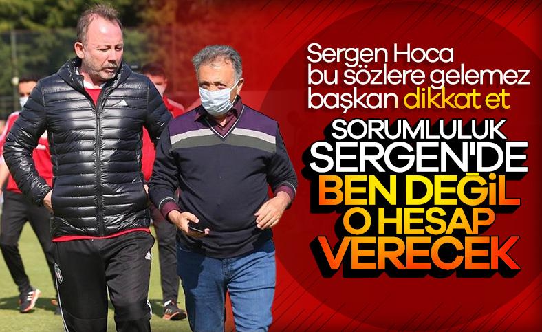 Ahmet Nur Çebi: Sorumluluk Sergen Hoca'da