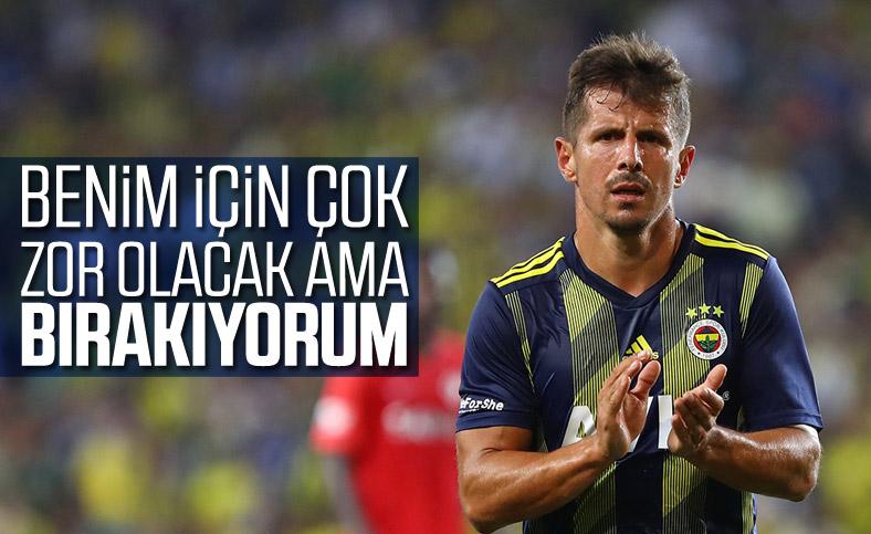 Emre Belözoğlu, futbolu bırakmak istiyor