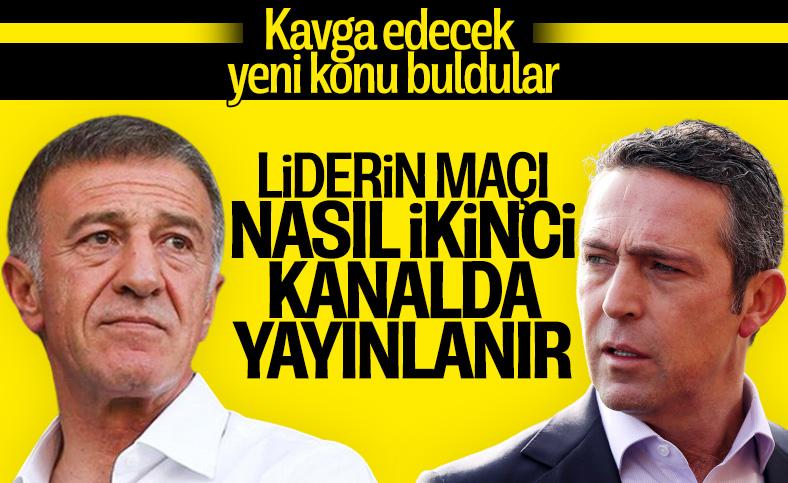 Ahmet Ağaoğlu: Liderin maçı 1. kanaldan verilir