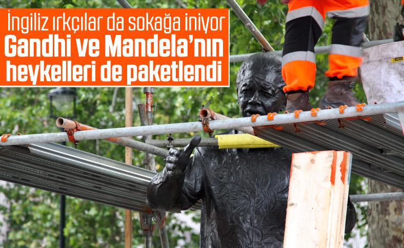 İngiltere'de Gandhi ve Mandela heykelerine de koruma