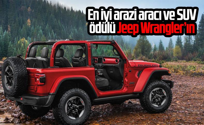 Jeep Wrangler, en iyi arazi aracı ve SUV seçildi